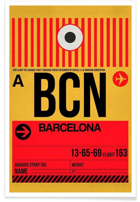 BCN-Barcelona -Poster