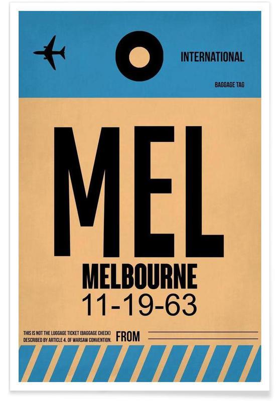 MEL-Melbourne Poster