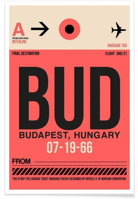 BUD - Budapest poster