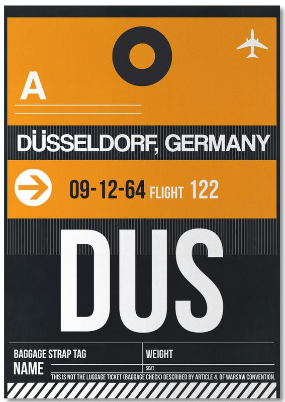 DUS - Düsseldorf -Notizblock