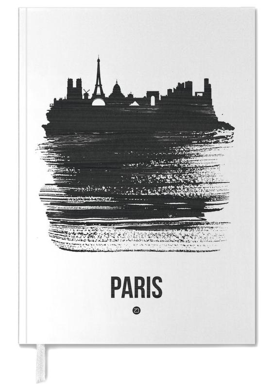 Paris Skyline Brush Stroke Personal Planner
