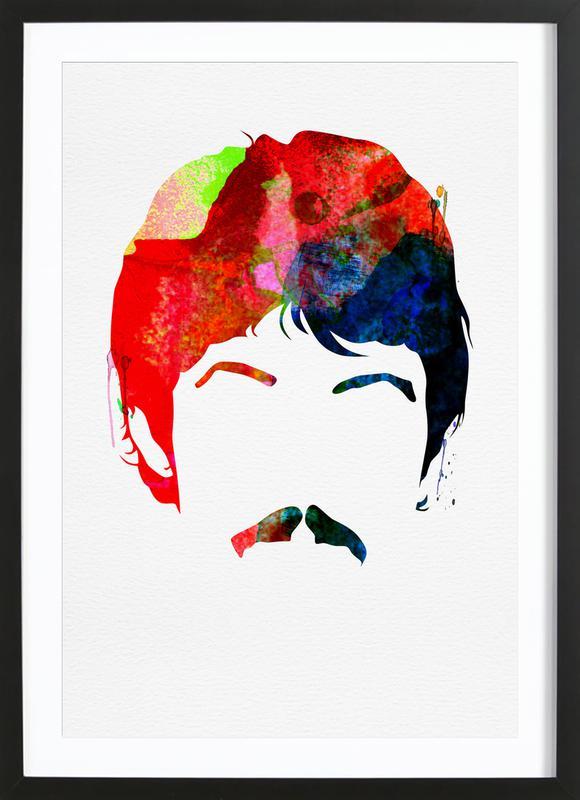McCartney -Bild mit Holzrahmen