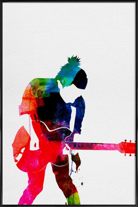 Radiohead ingelijste poster