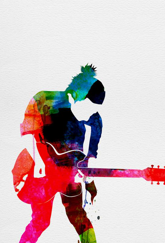 Radiohead acrylglas print