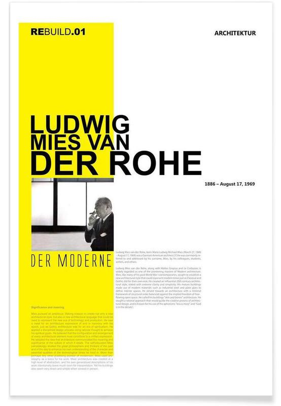 Mies Van Der Rohe affiche