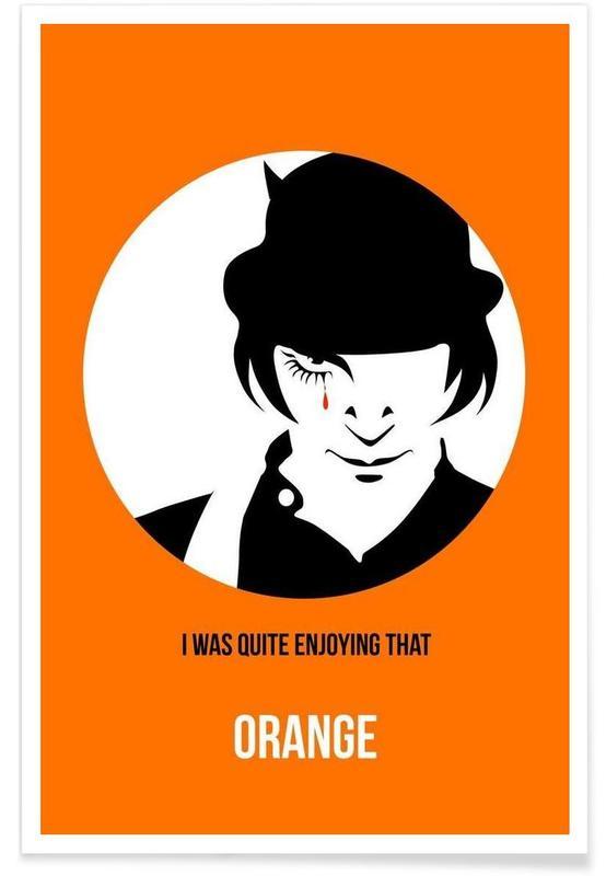Orange Poster 2 Poster