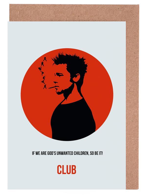 Club Poster 2 Grußkartenset | Dekoration > Bilder und Rahmen > Poster | Mehrfarbig