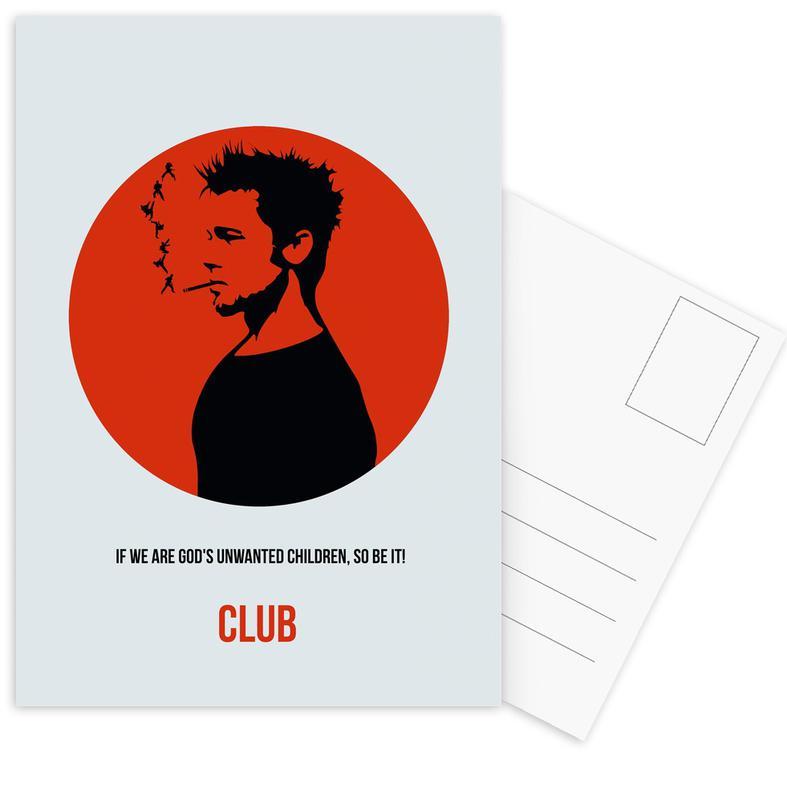 Club Poster 2 Postkartenset | Dekoration > Bilder und Rahmen > Poster | Mehrfarbig