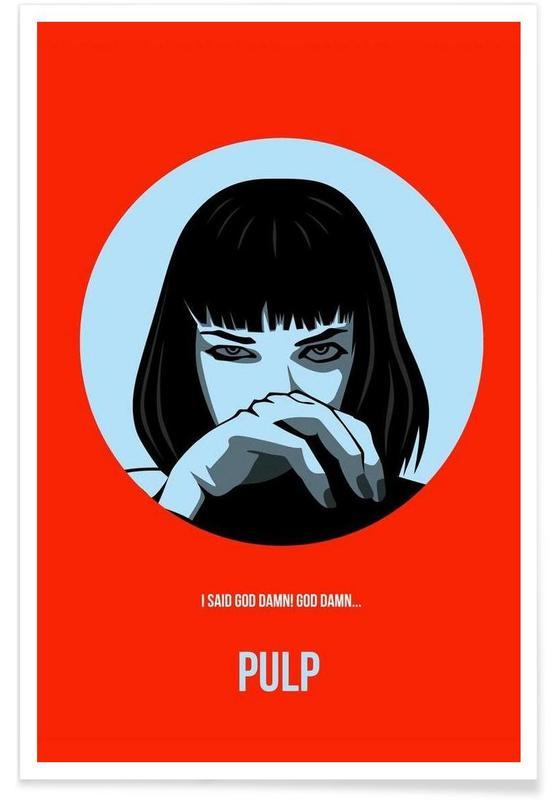 Pulp Poster 1 affiche
