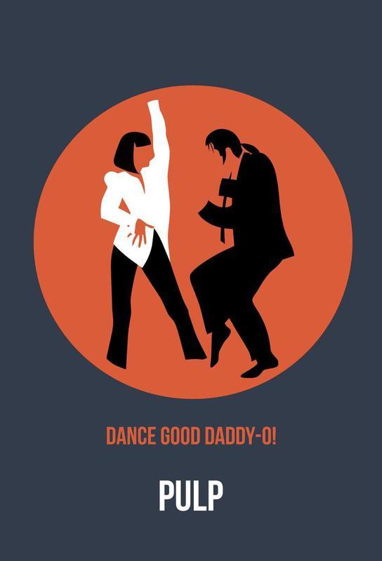 Daddy-O Poster 2 alu dibond