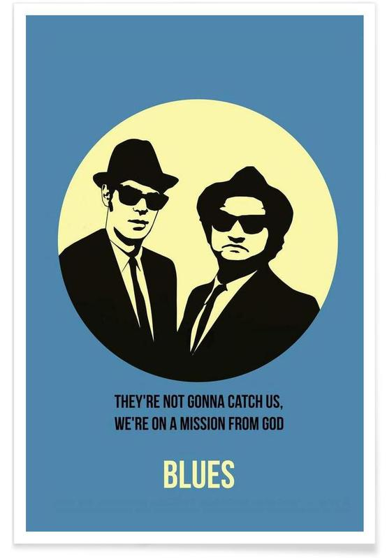 Blues Poster 2 Poster