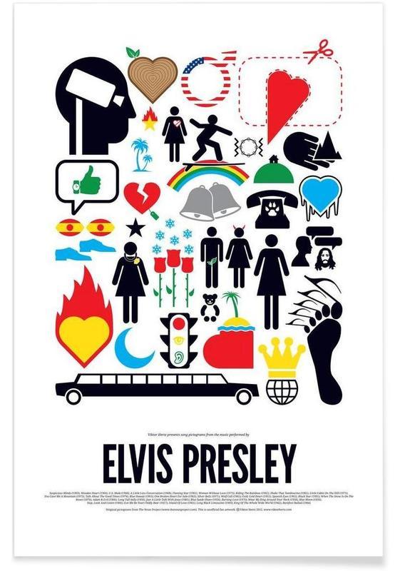 Elvis Presley -Poster