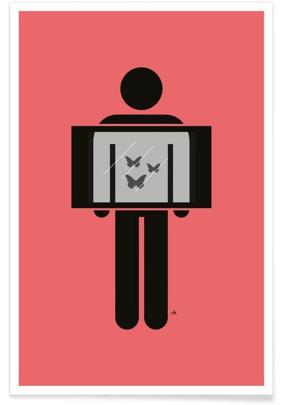 X-ray butterflies Poster