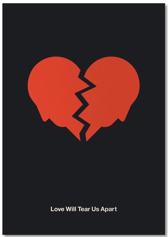 Love Will Tear Us Apart Notizblock | Dekoration > Accessoires