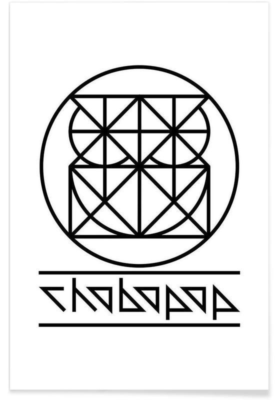 Owl Logo affiche