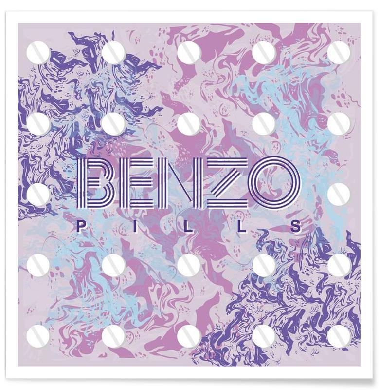 Benzo Poster