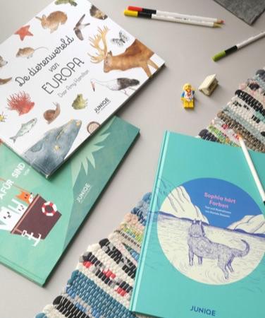 illustriertes kinderbuch 'die tierwelt europas' und malbuch