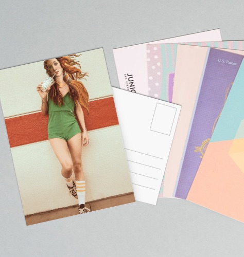 Postcard set with the design The Chill of Venus on top