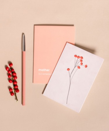 Notepads with winter designs