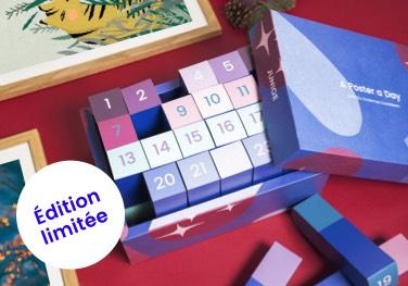 Calendrier de l'Avent 2017 contenant des posters juniqe