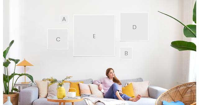 Premium Poster - This overview gives you a detailed understanding of our wall art sizes.