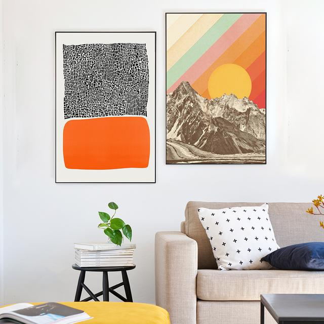 The Power Of Orange Shop Orange Wall Art For Your Home Juniqe