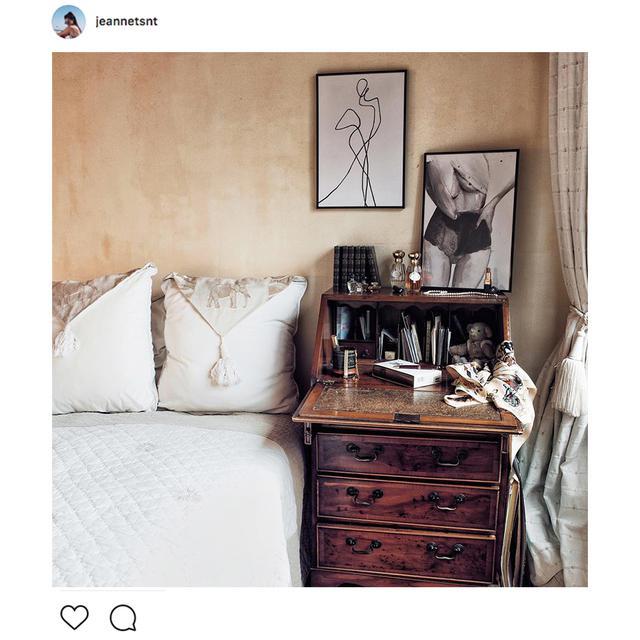 Instagram Schlafzimmer Trends Boho Deko Grüne Bilder Co Juniqe