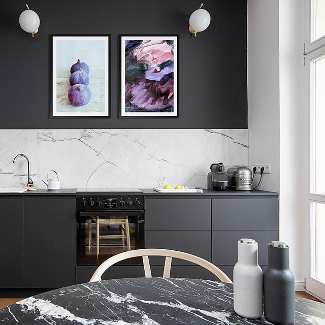Muurdecoratie Voor Keuken.Een Interieur Om Op Te Eten Wanddecoratie Voor De Keuken