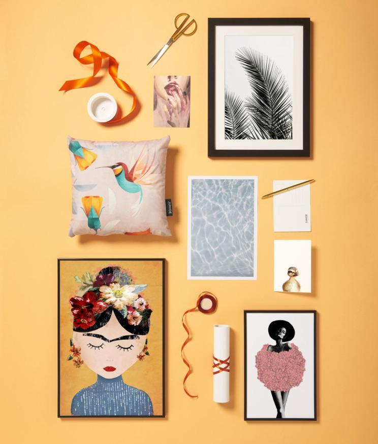 Kolibri-Kissen, Frida-Kahlo-Bild und weitere Geschenkartikel