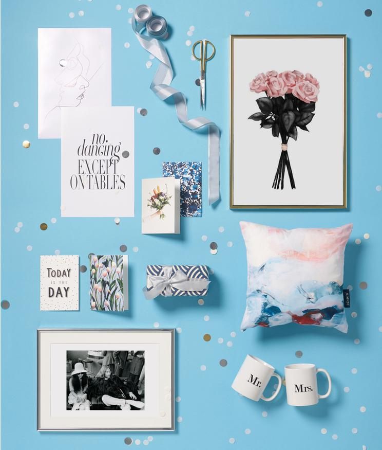 Wedding Gift And Present Ideas For The Bride And Groom Juniqe Uk
