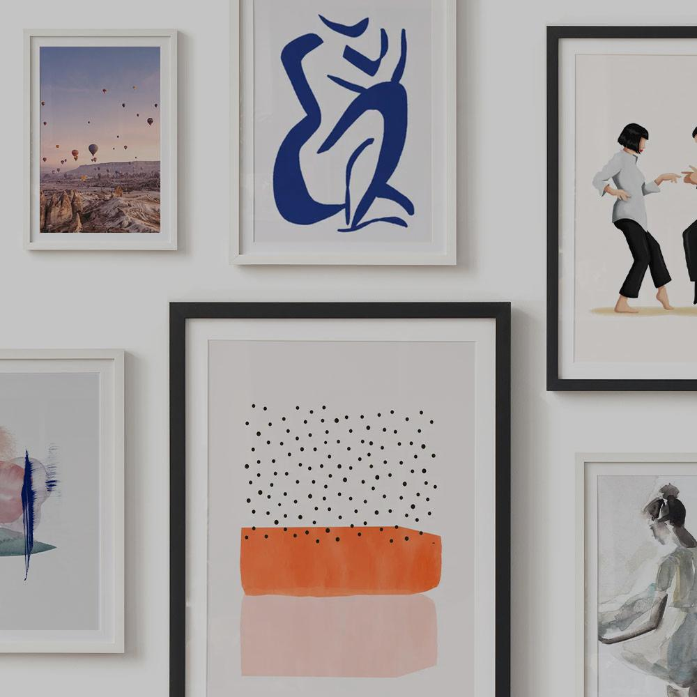 How To Hang Pictures Gallery Wall Layout Ideas Juniqe