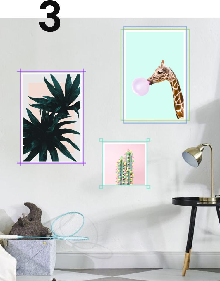 How To Hang Your Pictures Create Your Own Gallery Wall Juniqe