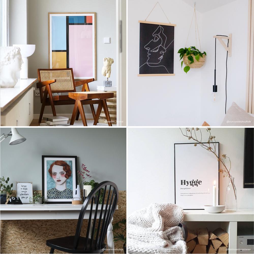Amazing Bilderwand gestalten   Ideen zum Bilder aufhängen   JUNIQE