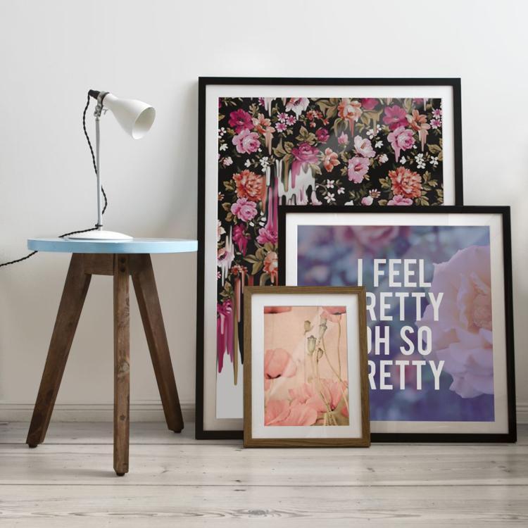 Wandgestaltung | Bilder & Poster richtig aufhängen | JUNIQE