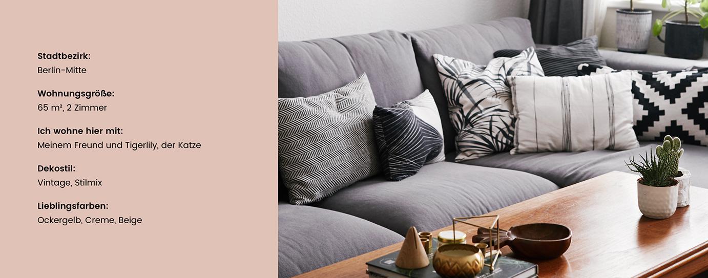 Durch Ihren Früheren Job Als Immobilienmaklerin Hat Claudi Ihre  Begeisterung Für Wohnungseinrichtungen Im Skandinavischen Stil ...