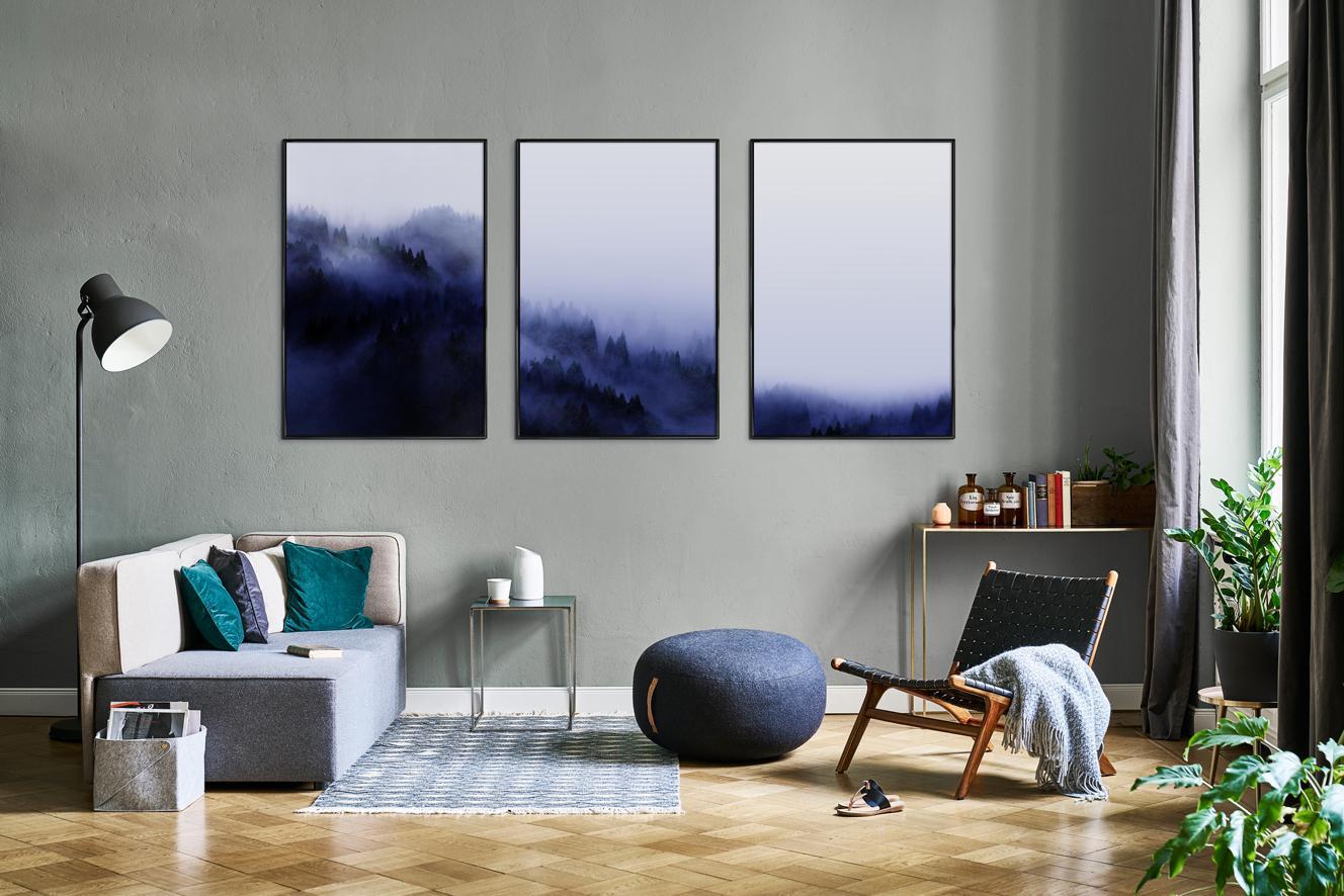 Mood Kussens Sale : Wandbilder & deko in ultra violet die pantone farbe 2018 juniqe