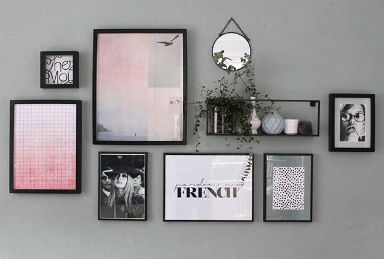 How to hang your pictures • Create your own Gallery wall | JUNIQE