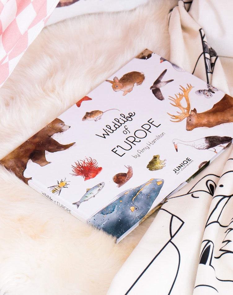 Children's book Wildlife of Europe by Amy Hamilton