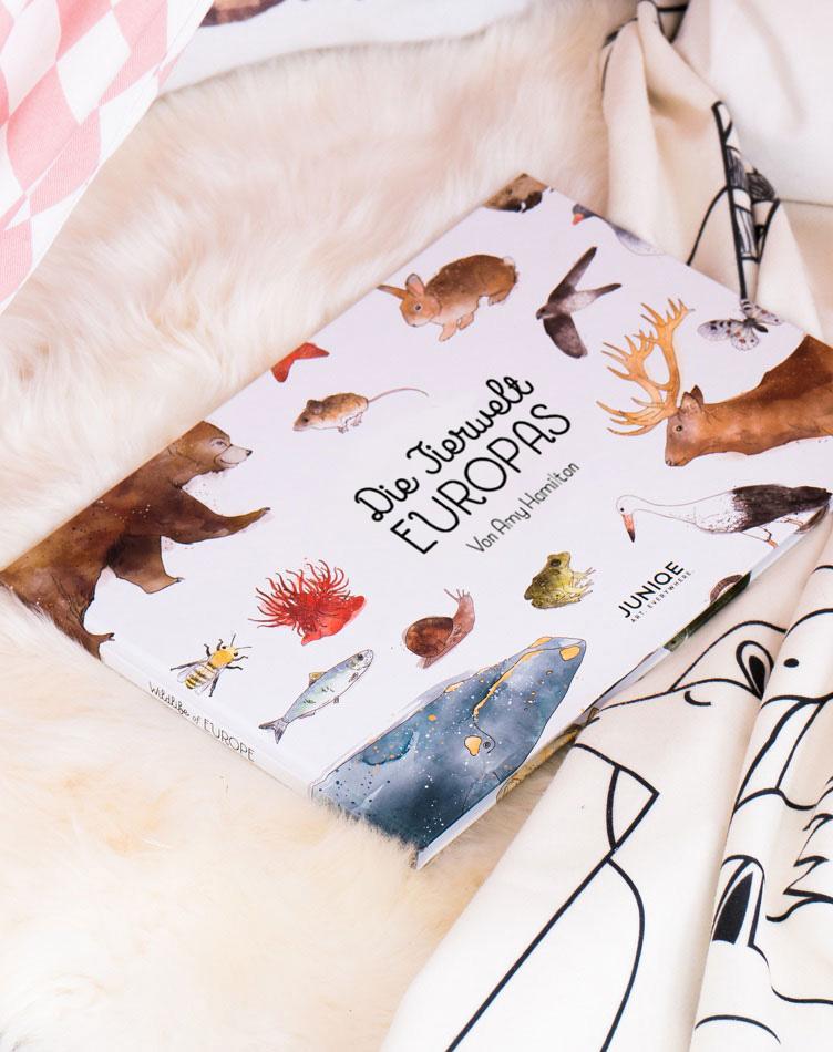 Kinderbuch Die Tierwelt Europas von Amy Hamilton