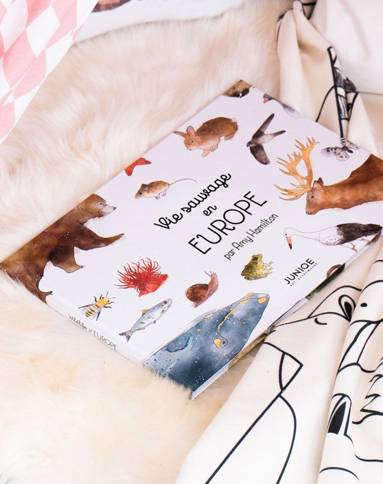 Le livre pour enfant Vie sauvage en Europe par Amy Hamilton