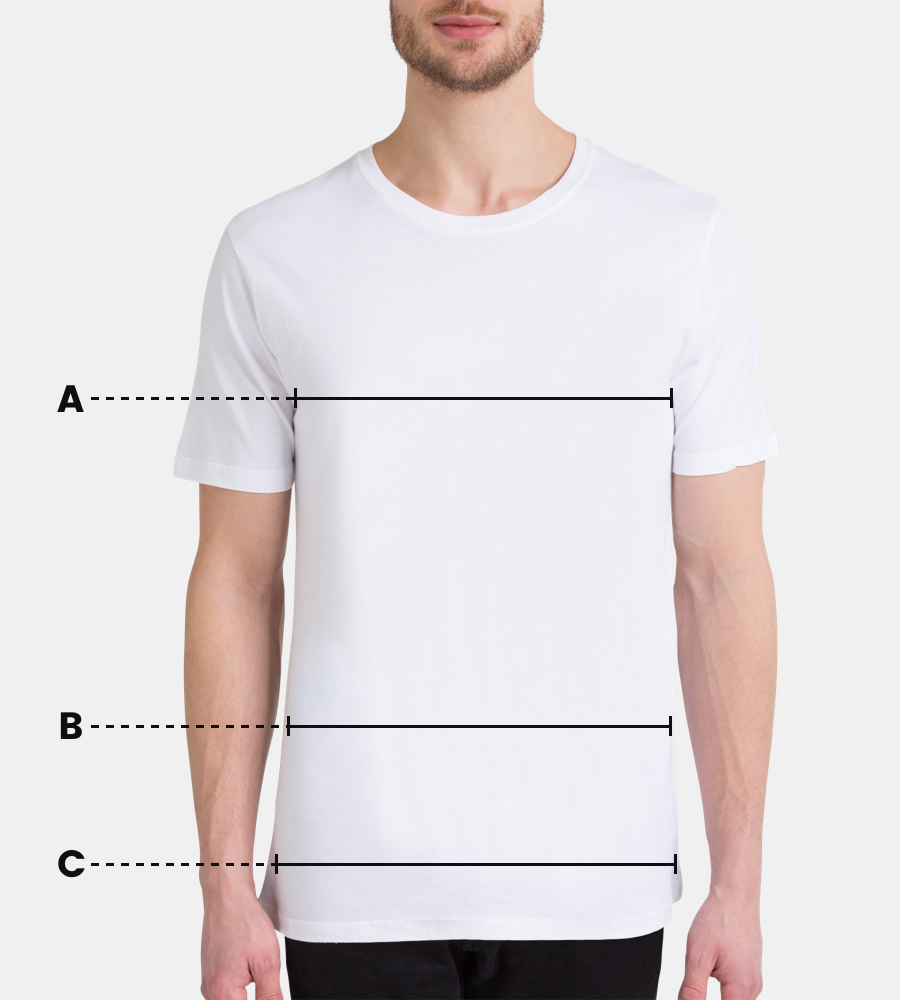 just friends en tee shirt homme par juniqe juniqe. Black Bedroom Furniture Sets. Home Design Ideas