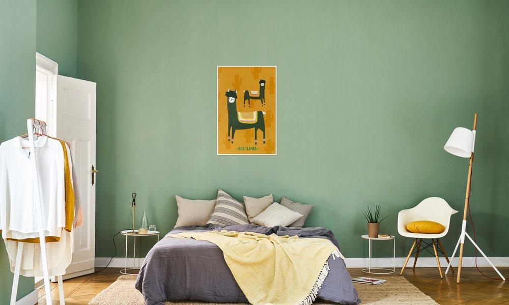 tableau lama juniqe