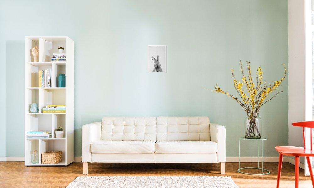 LWJZQT Leinwanddrucke Ocean Print Minimalist Schwarz-Wei/ß-Poster Ozean Wandkunst Leinwand Malerei Ozean Fotografie Bild Home Room Art Wanddekoration 40/×60cm