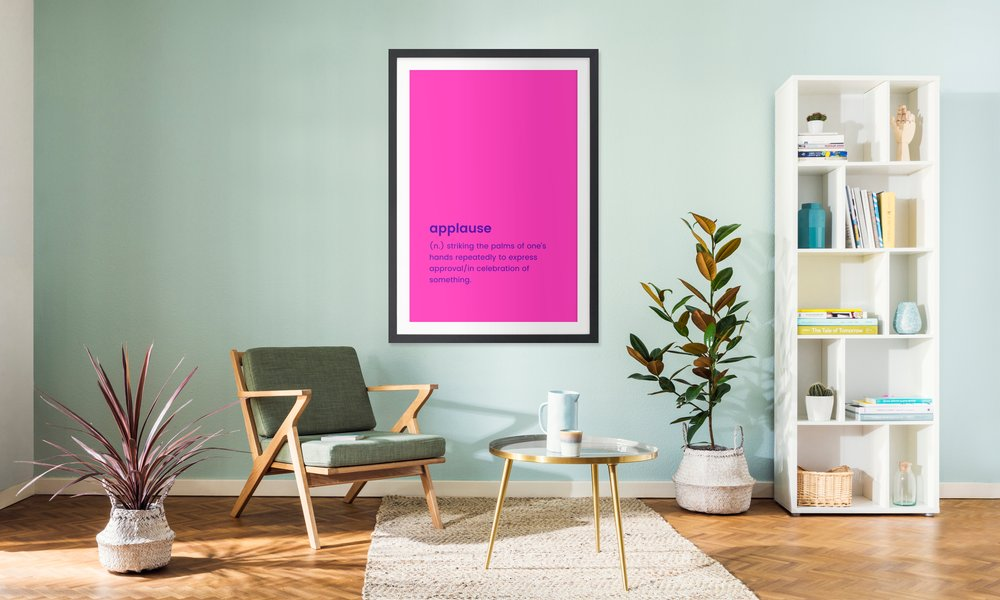 For Graduates as Poster in Wooden Frame by JUNIQE   JUNIQE