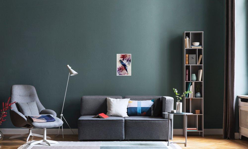 Botanic 2 en affiche premium par mr cup juniqe