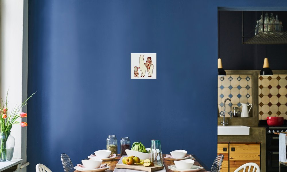 Alpizzaca en affiche premium par okimi juniqe