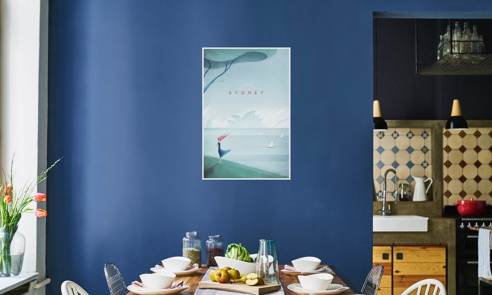 Sydney als Premium Poster von Henry Rivers | JUNIQE