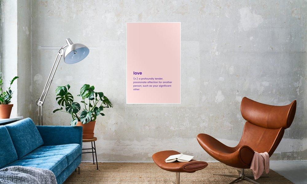 For Your Partner als Poster von JUNIQE | JUNIQE
